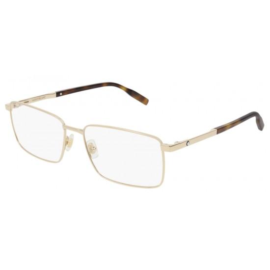 Montblanc MB0022O - 006 Oro | Occhiale Da Vista Uomo