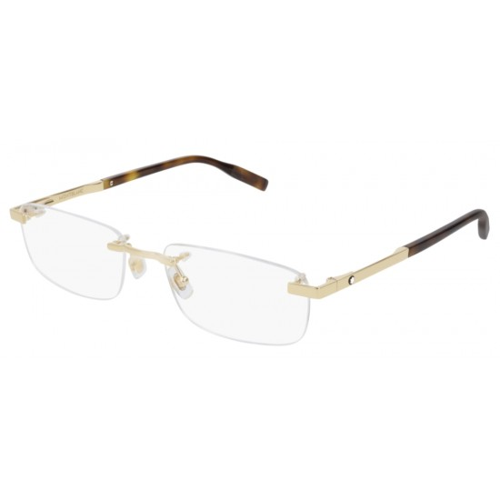 Montblanc MB0023O - 003 Oro   Occhiale Da Vista Uomo