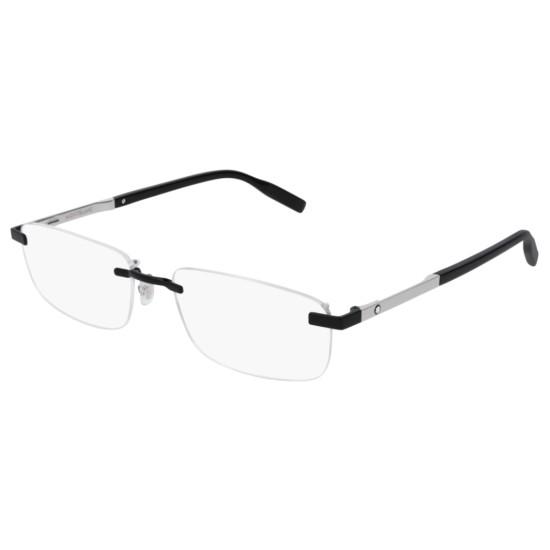 Montblanc MB0023O - 004 Nero | Occhiale Da Vista Uomo