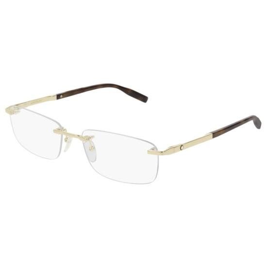 Montblanc MB0023O - 006 Oro | Occhiale Da Vista Uomo