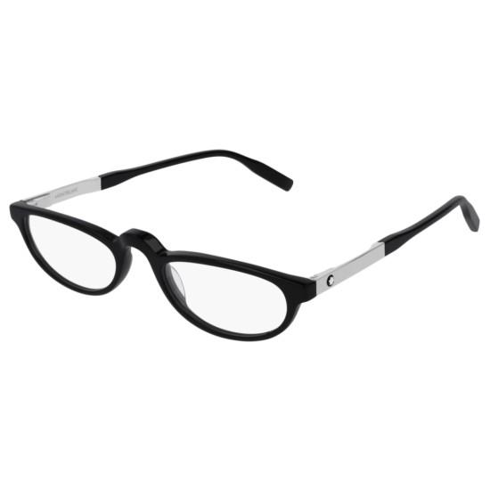 Montblanc MB0024O - 001 Nero | Occhiale Da Vista Uomo
