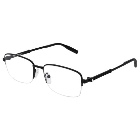 Montblanc MB0028O - 001 Nero   Occhiale Da Vista Uomo