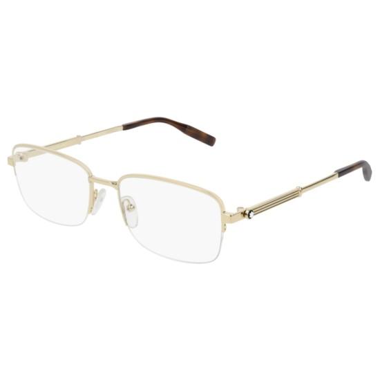Montblanc MB0028O - 002 Oro | Occhiale Da Vista Uomo