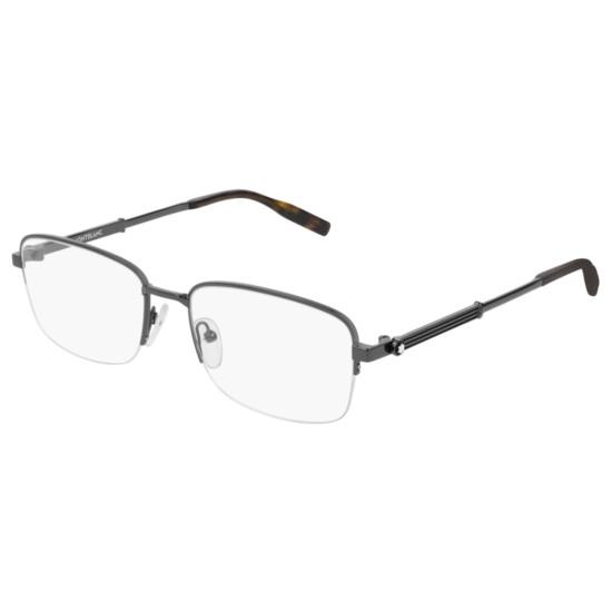 Montblanc MB0028O - 003 Rutenio | Occhiale Da Vista Uomo