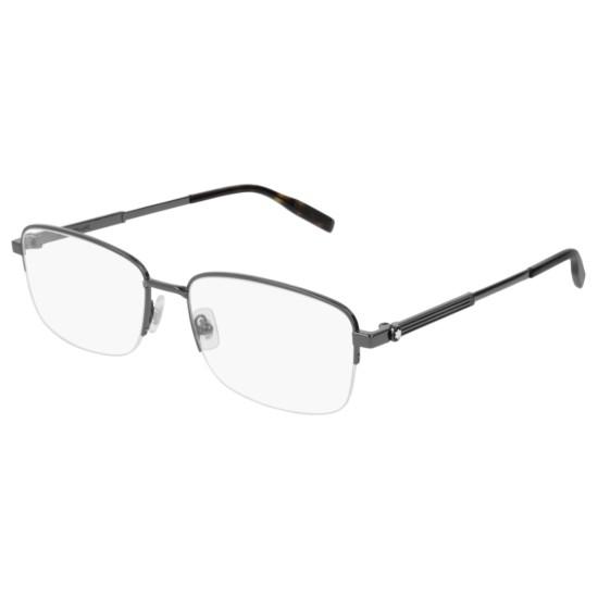 Montblanc MB0028O - 006 Rutenio   Occhiale Da Vista Uomo