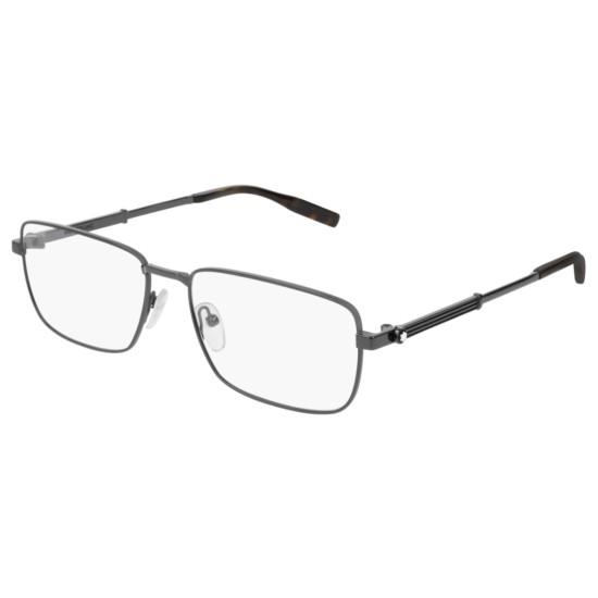 Montblanc MB0029O - 003 Rutenio | Occhiale Da Vista Uomo