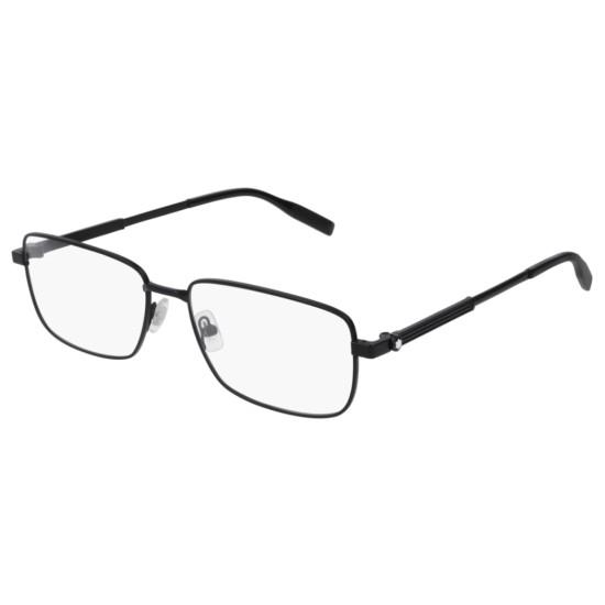 Montblanc MB0029O - 004 Nero   Occhiale Da Vista Uomo