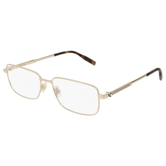 Montblanc MB0029O - 005 Oro   Occhiale Da Vista Uomo