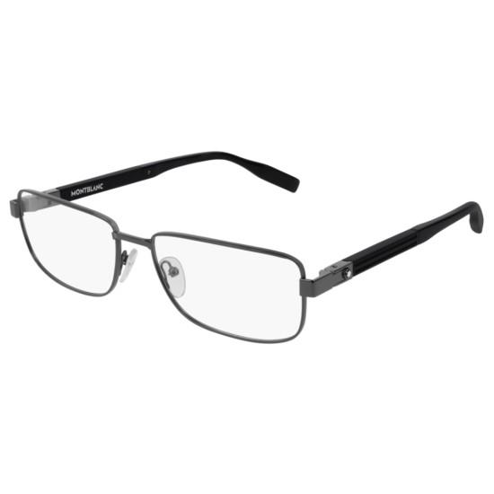 Montblanc MB0034O - 001 Rutenio | Occhiale Da Vista Uomo