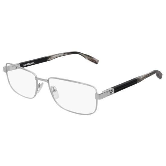 Montblanc MB0034O - 002 Argento | Occhiale Da Vista Uomo