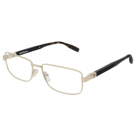 Montblanc MB0034O - 003 Oro | Occhiale Da Vista Uomo