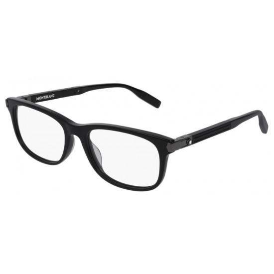 Montblanc MB0036O - 001 Nero   Occhiale Da Vista Uomo