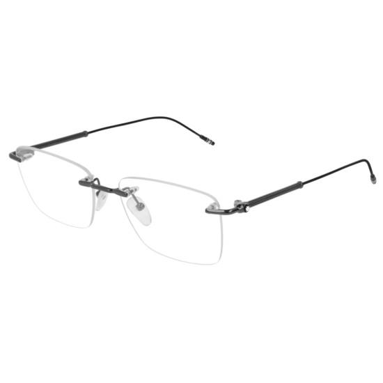 Montblanc MB0038O - 003 Rutenio   Occhiale Da Vista Uomo