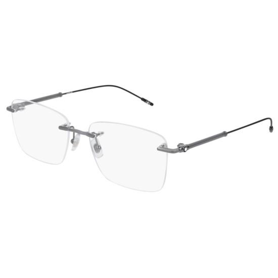 Montblanc MB0038O - 006 Rutenio | Occhiale Da Vista Uomo
