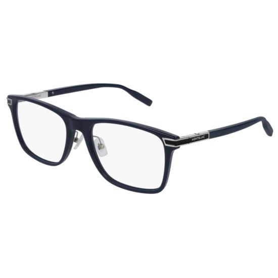 Montblanc MB0042O - 007 Blu | Occhiale Da Vista Uomo