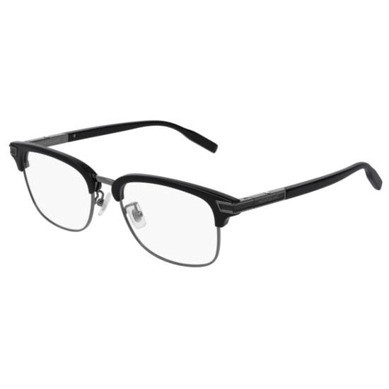 Montblanc MB0043O - 001 Nero   Occhiale Da Vista Uomo