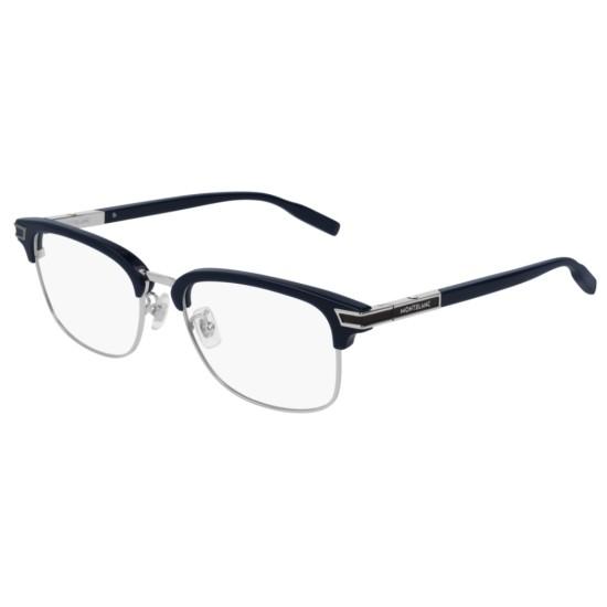 Montblanc MB0043O - 007 Blu | Occhiale Da Vista Uomo
