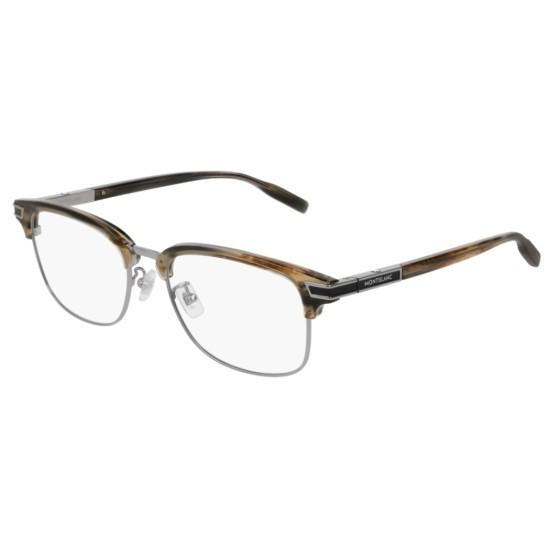 Montblanc MB0043O - 008 Grigio | Occhiale Da Vista Uomo