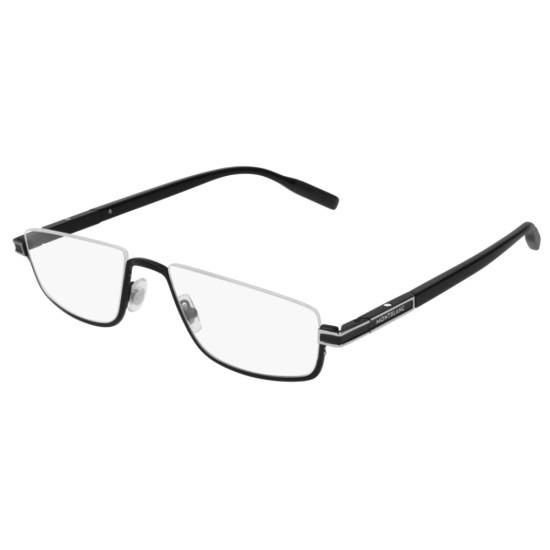 Montblanc MB0044O - 001 Nero | Occhiale Da Vista Uomo