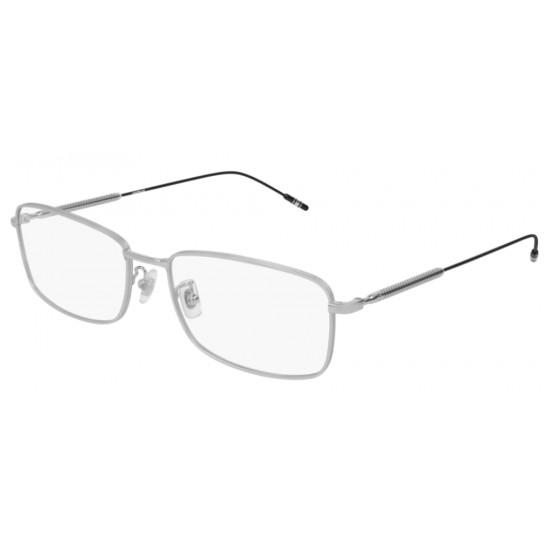 Montblanc MB0047O - 006 Argento | Occhiale Da Vista Uomo