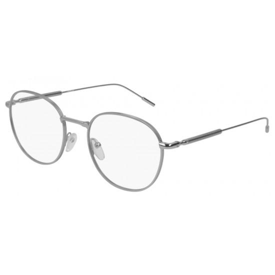 Montblanc MB0048O - 003 Argento | Occhiale Da Vista Uomo