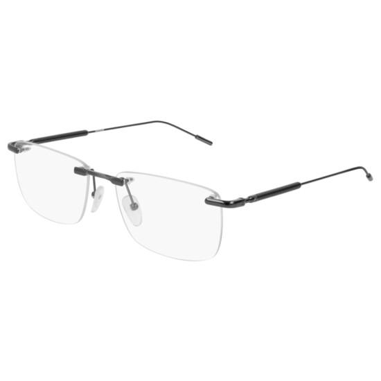Montblanc MB0049O - 001 Rutenio | Occhiale Da Vista Uomo