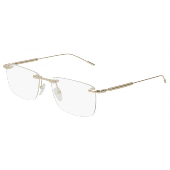Montblanc MB0049O - 002 Oro   Occhiale Da Vista Uomo