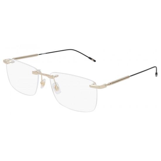 Montblanc MB0049O - 005 Oro | Occhiale Da Vista Uomo