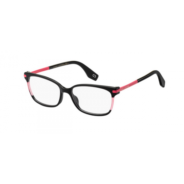 Marc Jacobs 300 - 3MR Shnyblack Nero Lucido Fucsia