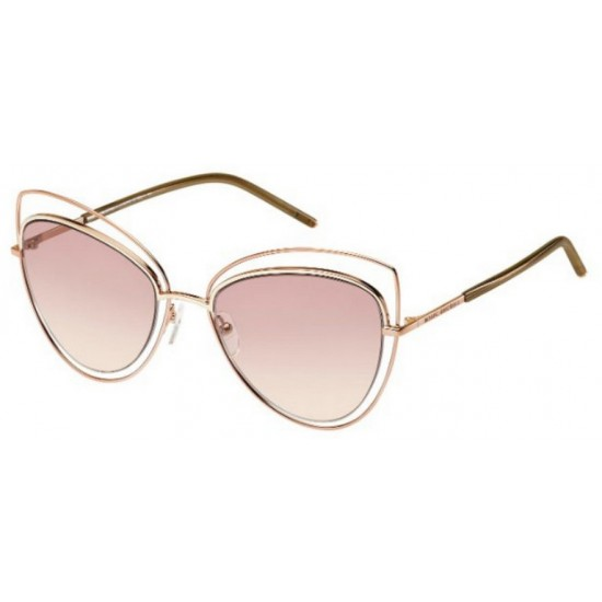 Marc Jacobs MJ 8/S - TXA 05 Marrone Dorato | Occhiale Da Sole Donna