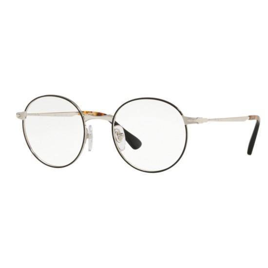 Persol PO 2451V - 1074 Nero Argento   Occhiale Da Vista Uomo