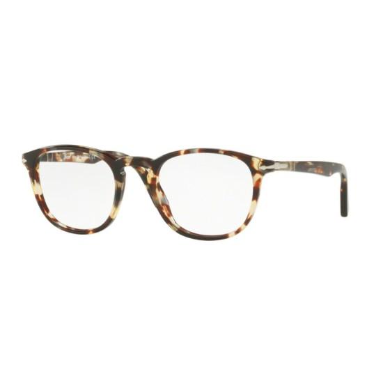 Persol PO 3143V - 1057 Avana Grigio Marrone | Occhiale Da Vista Uomo