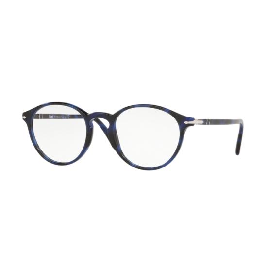 Persol PO 3174V - 1099 Griglia Blu | Occhiale Da Vista Uomo