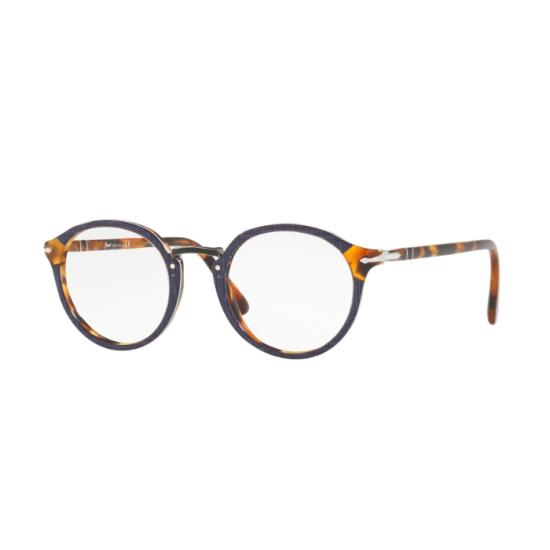 Persol PO 3185V - 1090 Blu | Occhiale Da Vista Uomo