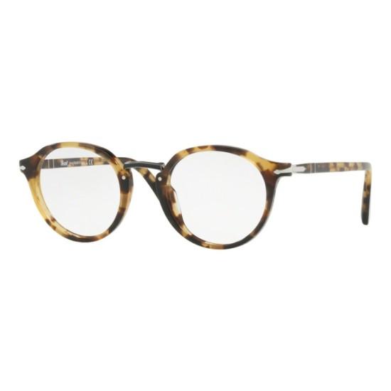 Persol PO 3185V - 1056 Tartaruga Marrone / Beige | Occhiale Da Vista Uomo