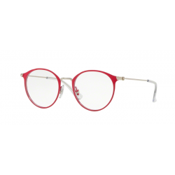 Ray-Ban Junior RY 1053 - 4066 Argento In Cima Rosso
