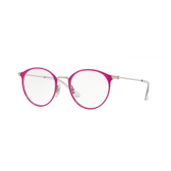 Ray-Ban Junior RY 1053 - 4067 Argento In Cima Fuxia