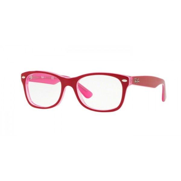 Ray-Ban Junior RY 1528 - 3761 Trasp Rosa In Alto Bordeaux