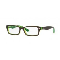 Ray-Ban Junior RY 1530 - 3665 Top Marrone Su Verde Fluo