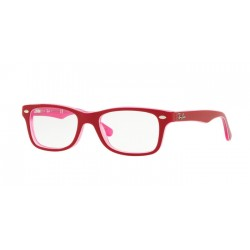Ray-Ban Junior RY 1531 - 3761 Rosa Trasparente In Alto Bordeau