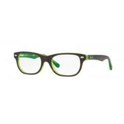 Ray-Ban Junior RY 1555 - 3665 Top Marrone Su Verde Fluo