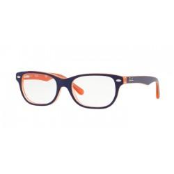 Ray-Ban Junior RY 1555 - 3762 Trasp Arancione In Cima Blu