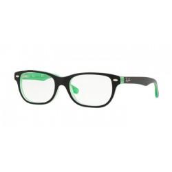 Ray-Ban Junior RY 1555 - 3764 Trasp Verde Sopra Nero