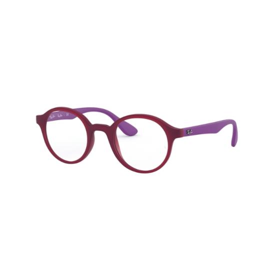 Ray-Ban Junior RY 1561 - 3782 Fuxia Trasparente Opaco | Occhiale Da Vista Bambino Unisex