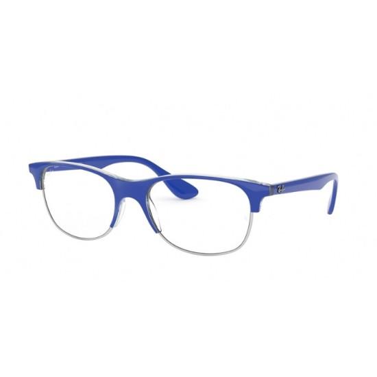 Ray-Ban RX 4319V - 5877 Top Blu Chiaro Sul Blu Trasp   Occhiale Da Vista Unisex
