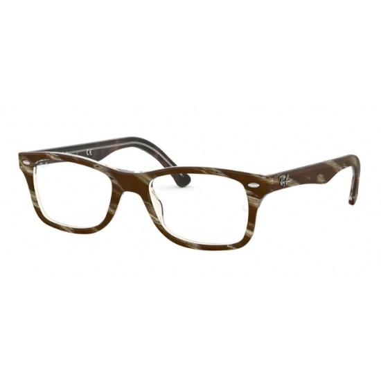 Ray-Ban RX 5228 - 5914 Superiore Marrone-rosso-giallo | Occhiale Da Vista Unisex