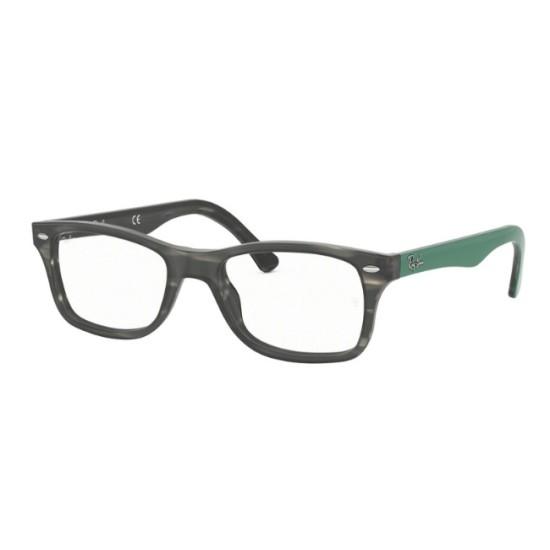 Ray-Ban RX 5228 - 5800 Grigio Verde Havana | Occhiale Da Vista Unisex