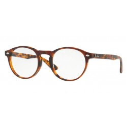 Ray-Ban RX 5283 - 5675 Top Havana Marrone-giallo