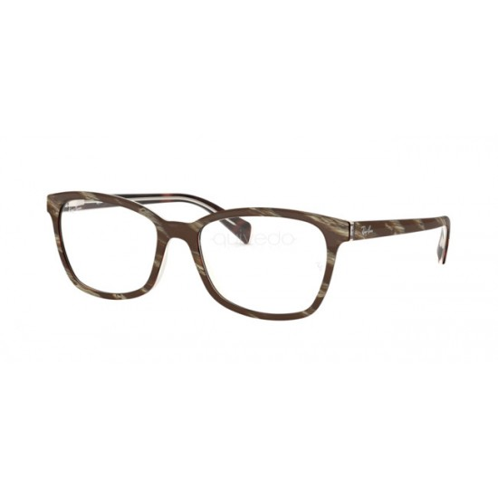Ray-Ban RX 5362 - 5914 Superiore Marrone-rosso-giallo | Occhiale Da Vista Donna