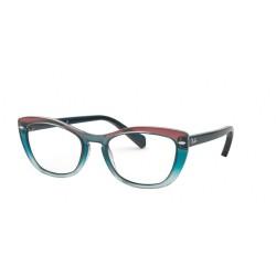 Ray-Ban RX 5366 - 5834 Trigradient Blu-rosso-azzurro